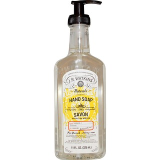 J R Watkins, Natural Hand Soap, Lemon, 11 fl oz (325 ml)