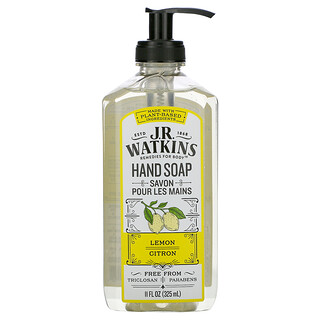 J R Watkins, Hand Soap, Lemon, 11 fl oz (325 ml)
