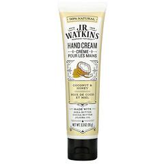 J R Watkins, 護手霜,椰子和蜂蜜,3.3 盎司(95 克)