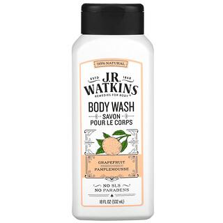 J R Watkins, Body Wash, Grapefruit, 18 fl oz (532 ml)