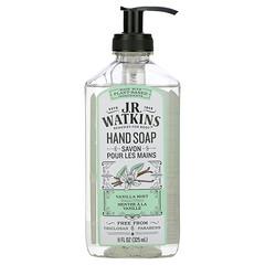 J R Watkins, 洗手液,香草薄荷味,11 液量盎司(325 毫升)