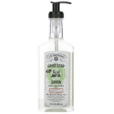 Купить J R Watkins Hand Soap, Neroli & Thyme, 11 fl oz (325 ml)