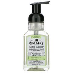 J R Watkins, 泡泡洗手液,橙花麝香味,9 液量盎司(266 毫升)