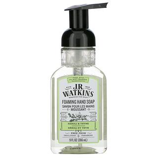J R Watkins, Foaming Hand Soap, Neroli & Thyme, 9 fl oz (266 ml)