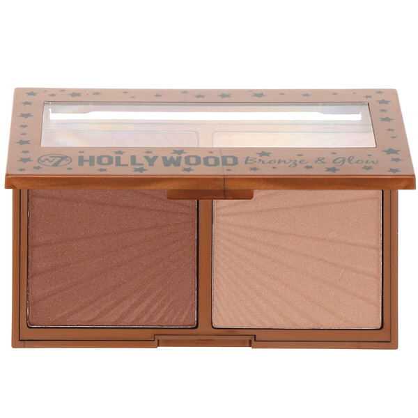 W7, Hollywood Bronze & Glow, Duo bronzeur et illuminateur