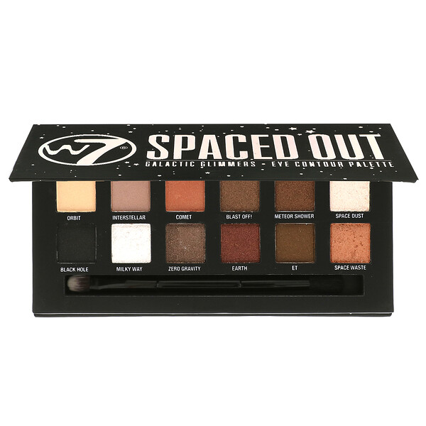 Spaced Out, Galactic Glimmers, Eye Contour Palette, 0.34 oz (9.6 g)