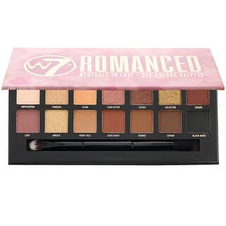W7, Romanced, Neutrals In Love, Eye Colour Palette, 0.39 oz (11.2 g)