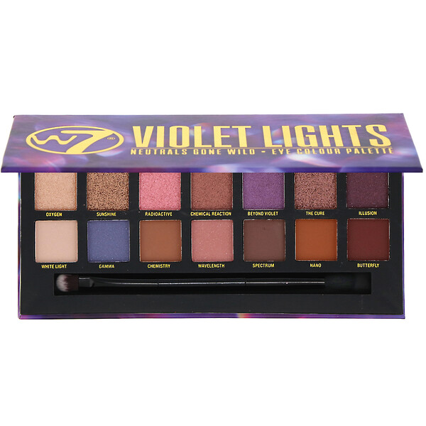 Violet Lights, Neutrals Gone Wild, палетка теней, 11,2 г