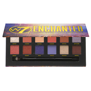 W7, Enchanted, Brilliance in Bloom, Pressed Pigment Palette, 0.34 oz (9.6 g)