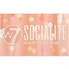 W7, Socialite 高显色混合眼影盘,0.59 盎司(17 克)