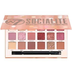 W7, Socialite, Indulgent Multi-Textured Pressed Pigment Palette, 0.59 oz (17 g) отзывы покупателей