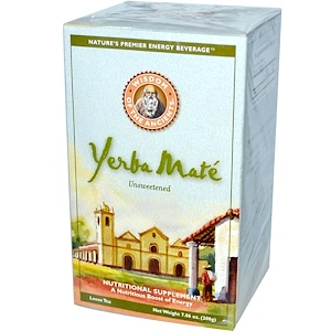 Виздом Натуралс, Wisdom of the Ancients, Yerba Mate, Loose Tea, Unsweetened, 7.06 oz (200 g) отзывы