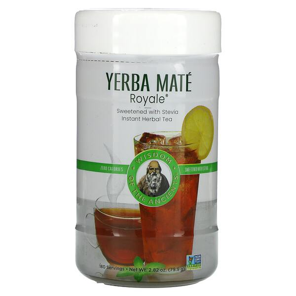 Yerba Mate Royale, Instant Herbal Tea with Stevia, 2.82 oz (79.9 g)