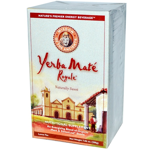 Wisdom Natural, Wisdom of the Ancients, Yerba Mate Royale, Loose Tea, 7.06 oz (200 g) (Discontinued Item)