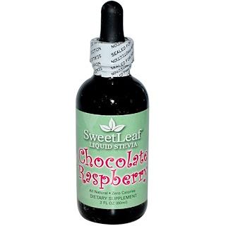 Wisdom Natural, SweetLeaf, Liquid Stevia, Chocolate Raspberry, 2 fl oz (60 ml)
