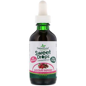 Виздом Натуралс, SweetLeaf, Liquid Stevia, Sweet Drops Sweetener, Chocolate Raspberry, 2 fl oz (60 ml) отзывы