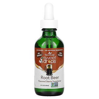 Wisdom Natural, SweetLeaf, Sweet Drops Stevia Sweetener, Root Beer, 2 fl oz (60 ml)