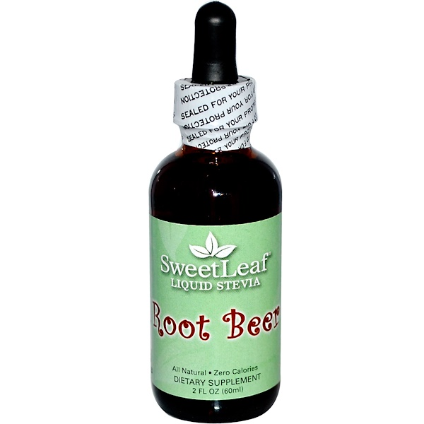 SweetLeaf, Liquid Stevia, Root Beer, 2 fl oz (60 ml)