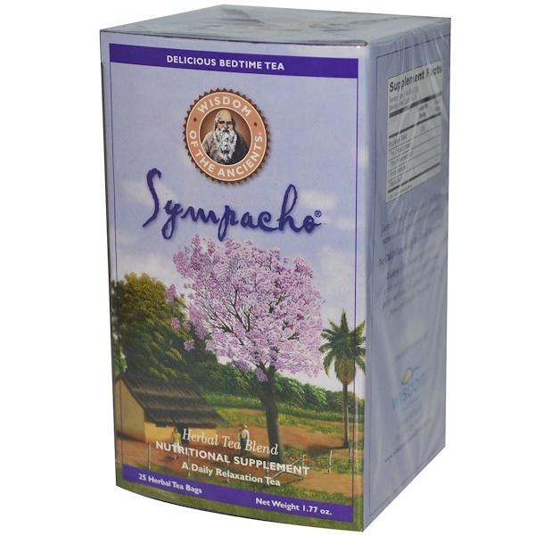 Wisdom Natural, Wisdom of the Ancients, Sympacho, 25 Herbal Tea Bags, 1.77 oz (Discontinued Item)