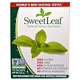 Отзывы о Wisdom Natural, SweetLeaf, природный заменитель сахара стевия, 70 пакетов