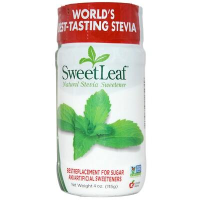 Купить SweetLeaf, натуральный подсластитель из стевии, 115 г (4 унции)