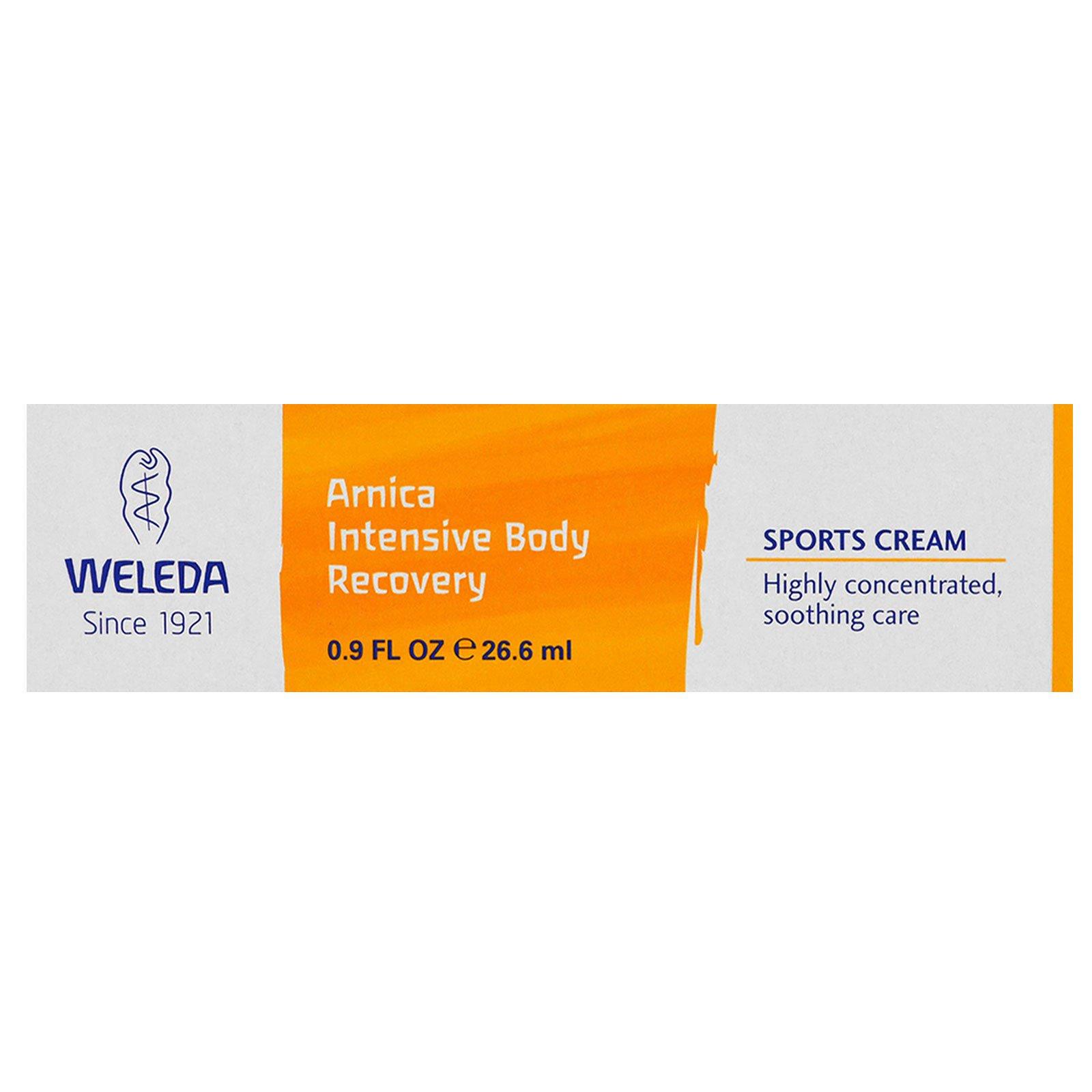 Weleda, Интенсивное восстановление для тела с арникой, Крем для спортсменов, 0,9 унц. (26,6 мл)