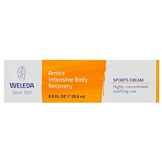 Weleda, Arnica Intensive Body Recovery, Sports Cream, 0.9 fl oz (26.6 ml)