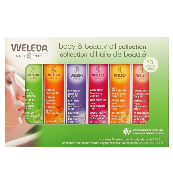 Body Oils, Essential Kit, 6 Oils, (0.34 fl oz Each)