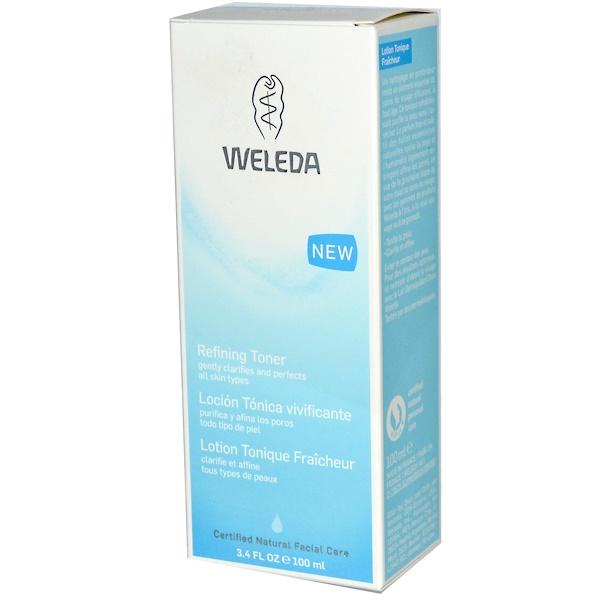 Weleda, Refining Toner, 3.4 fl oz (100 ml)