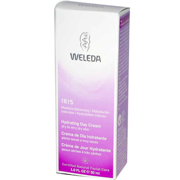 Weleda, Iris, Hydrating Day Cream, 1.0 fl oz (30 ml)  (Discontinued Item)