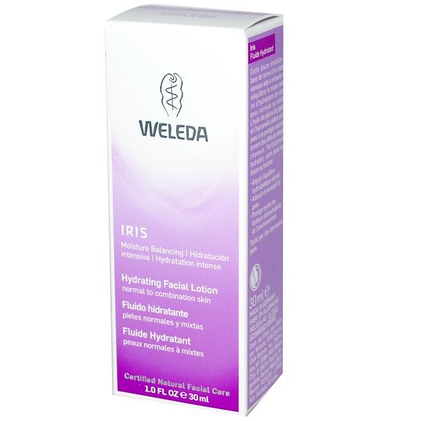 Weleda, Hydrating Facial Lotion, Iris, 1.0 fl oz (30 ml)
