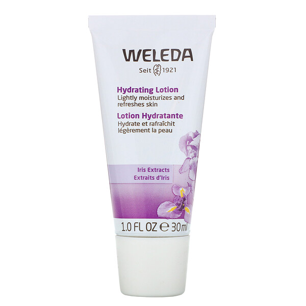 Weleda, Hydrating Lotion, Iris Extracts, 1.0 fl oz (30 ml)