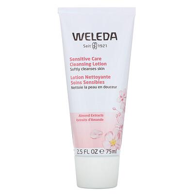 Купить Weleda Sensitive Care Cleansing Lotion, Almond Extracts, 2.5 fl oz (75 ml)