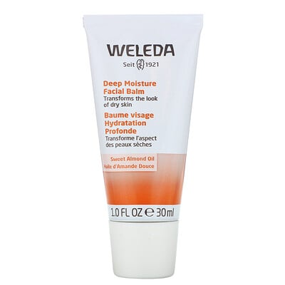 Купить Weleda Deep Moisture Facial Balm, Sweet Almond Oil Extracts, 1 fl oz (30 ml)