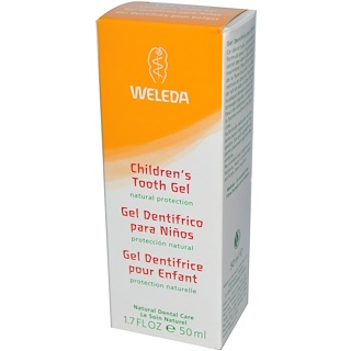 Weleda, Gel Dental infantil, 1,7 onças fluidas (50ml)