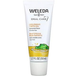 Weleda, Children's Tooth Gel, Spearmint Flavor, 1.7 fl oz (50 ml)