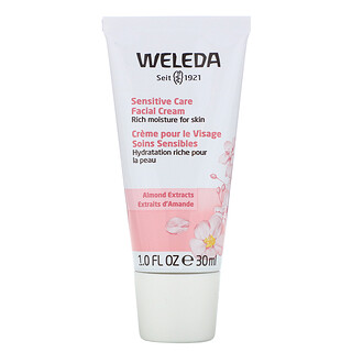 Weleda, Sensitive Care Facial Cream, Almond Extracts, 1.0 fl oz (30 ml)
