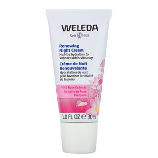Weleda, Обновляющий ночной крем, эктракт шиповника, 1,0 ж. унц. (30 мл)