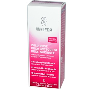 Weleda, Дикая роза, смягчающий ночной крем, 1.0 жидкая унция (30 мл) купить на iHerb