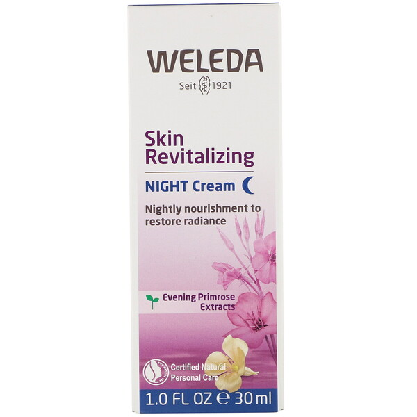 Weleda, Skin Revitalizing, Night Cream, 1.0 fl oz (30 ml)