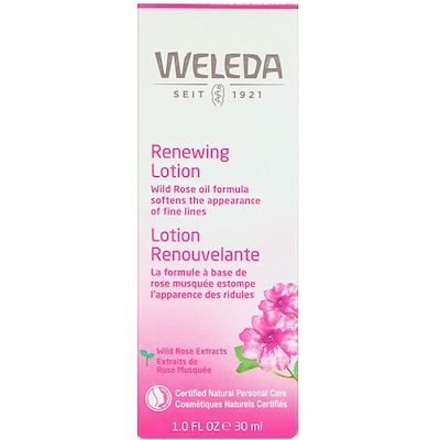 Wild Rose, Smoothing Facial Lotion, 1.0 fl oz (30 ml)
