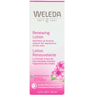Weleda, Wild Rose, Smoothing Facial Lotion, 1.0 fl oz (30 ml)