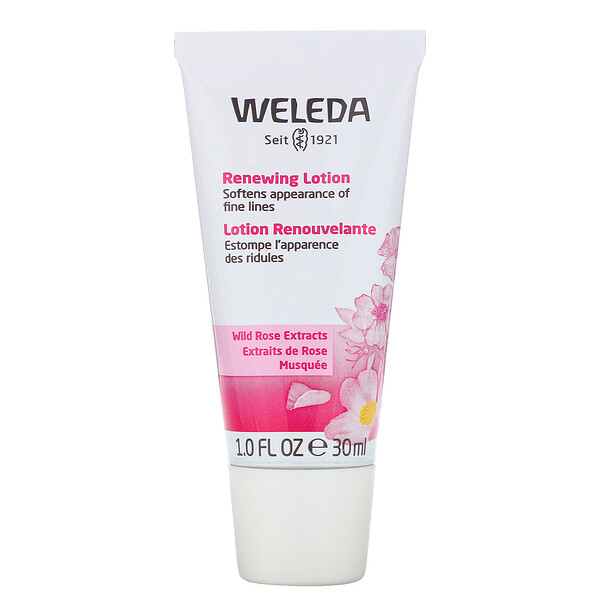 Weleda, Renewing Lotion, Wild Rose Extracts, 1.0 fl oz (30 ml)