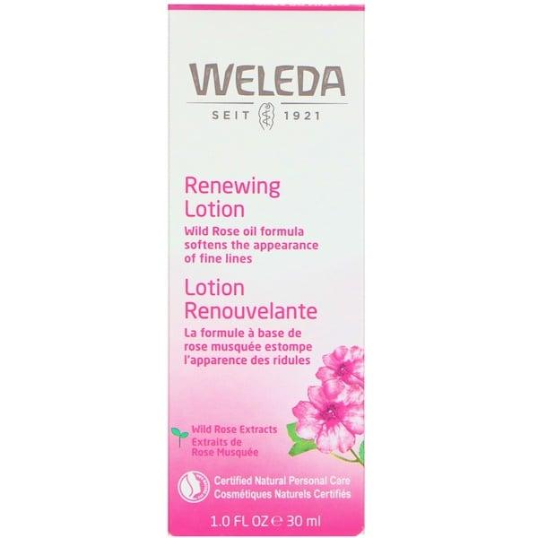 Weleda, Wild Rose, Smoothing Facial Lotion, 1、0 fl oz (30 ml)