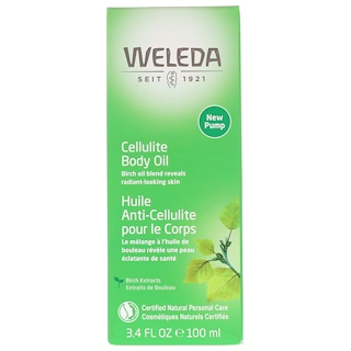 Weleda, Cellulite Body Oil, 3.4 fl oz (100 ml)