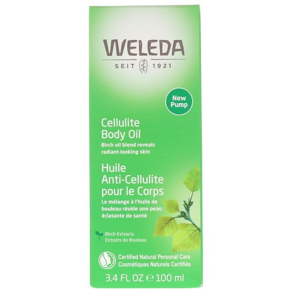 Cellulite Body Oil, Almond Extracts, Sensitive Skin, 3.4 fl oz (100 ml)