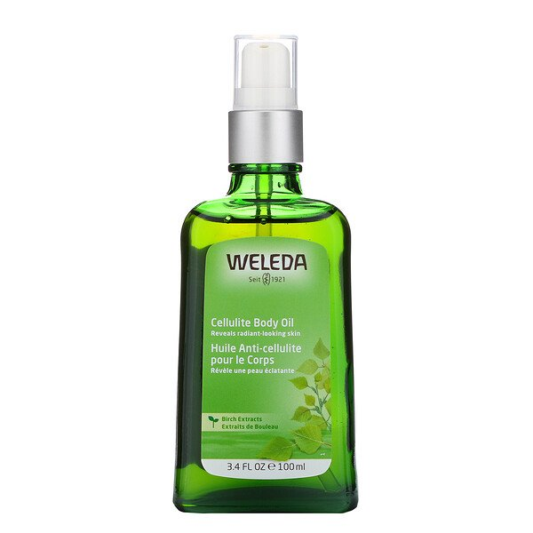 Weleda, Cellulite Body Oil, Birch Extracts, 3.4 fl oz (100 ml)