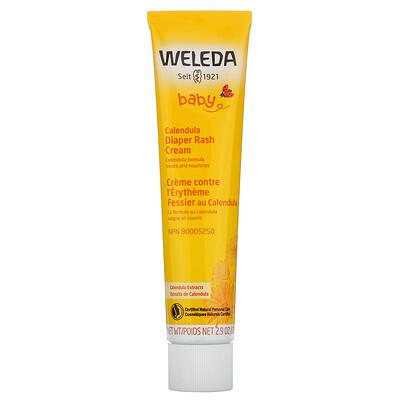 Купить Weleda Baby, Calendula Diaper Rash Cream, Calendula Extracts, 2.9 oz (81 g)