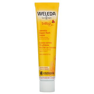 Weleda, Baby, Calendula Diaper Rash Cream, Calendula Extracts, 2.9 oz (81 g)