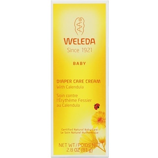 Weleda, Baby, Diaper Care Cream with Calendula, 2.8 oz (81 g)